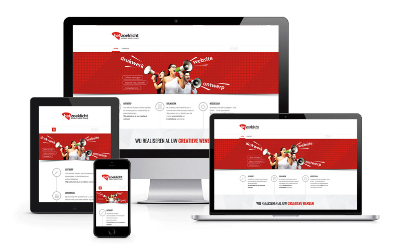 Gebruiksvriendelijke website